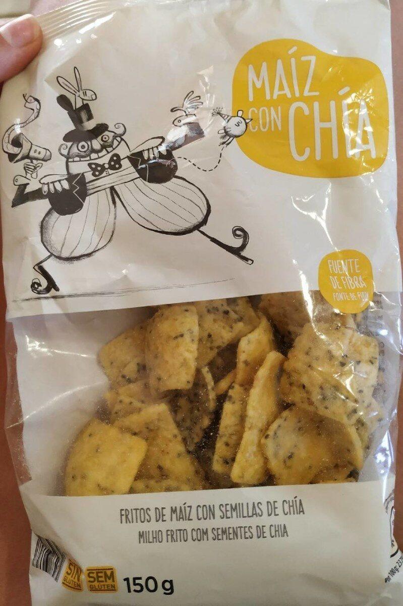 Fritos de maíz con chía - Product