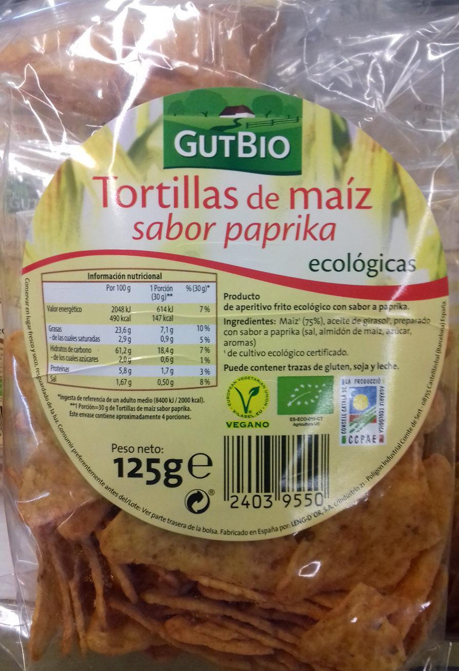 Tortillas de maíz - Producto - es