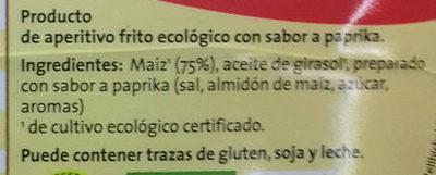 Tortillas de maíz - Ingredientes - es