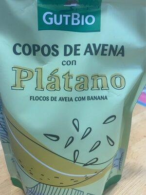 Copos de avena con plátano - Product