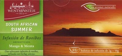 Infusión de Rooibos Mango & Menta - Product
