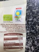 Frutos secos crudos Gutbio - Ingredientes - es