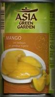 Mango en rodajas en almíbar ligero - Producto - es
