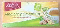 Infusión de jengibre y limoncillo - Producto - es