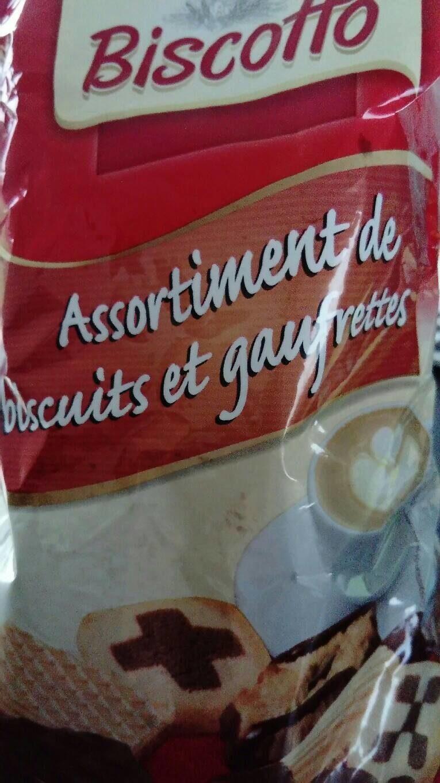 Assortiment de biscuits et gaufrettes - Producte - fr