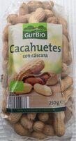 Cacahuetes con cáscara - Product