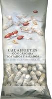 Cacahuetes con cáscara tostados con sal - Product