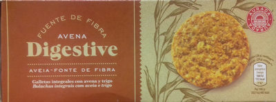 Galletas Digestive Avena - Producto