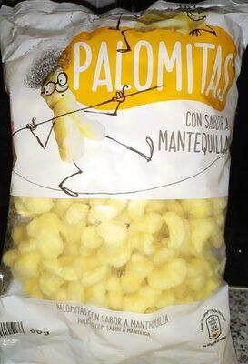 Palomitas con sabor a mantequilla - Produit - es
