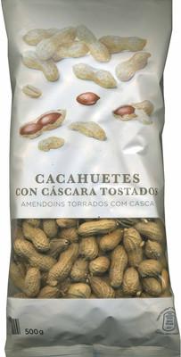 Cacahuetes con cáscara tostados sin sal - 5