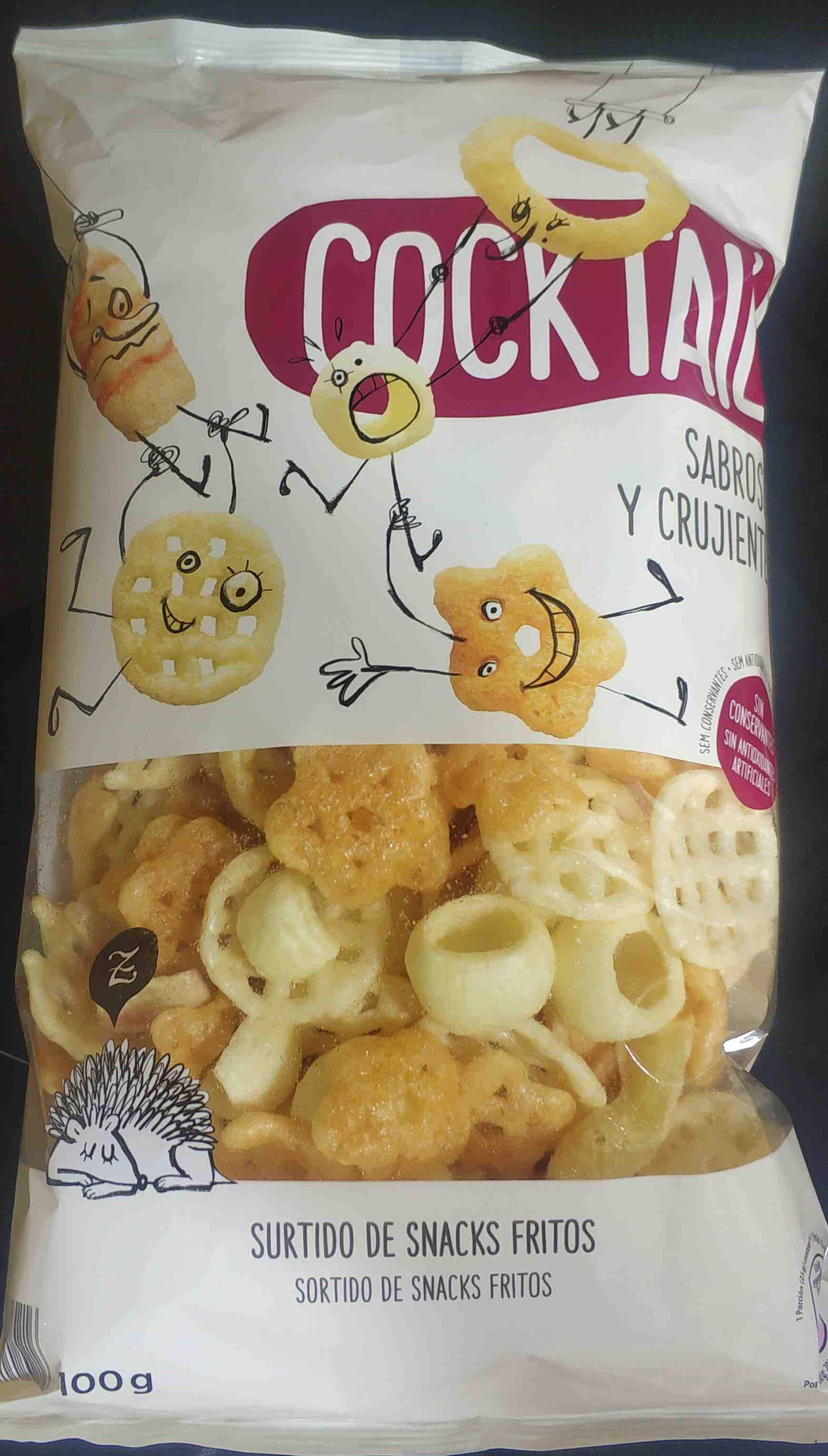 Cocktail frito - Producte