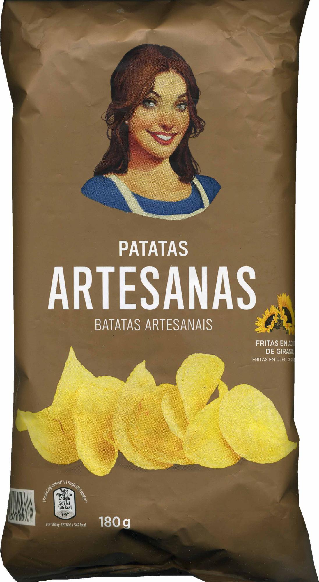 Patatas fritas lisas Artesanas - Product