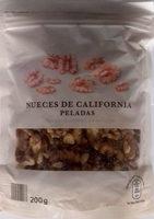 Nueces de California peladas - Producto