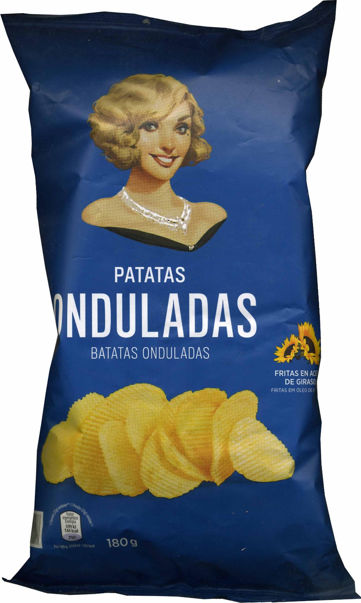 Patatas onduladas - Producto