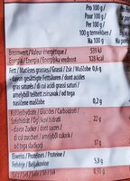 Nueces Jumbo con cascara - Informations nutritionnelles - de