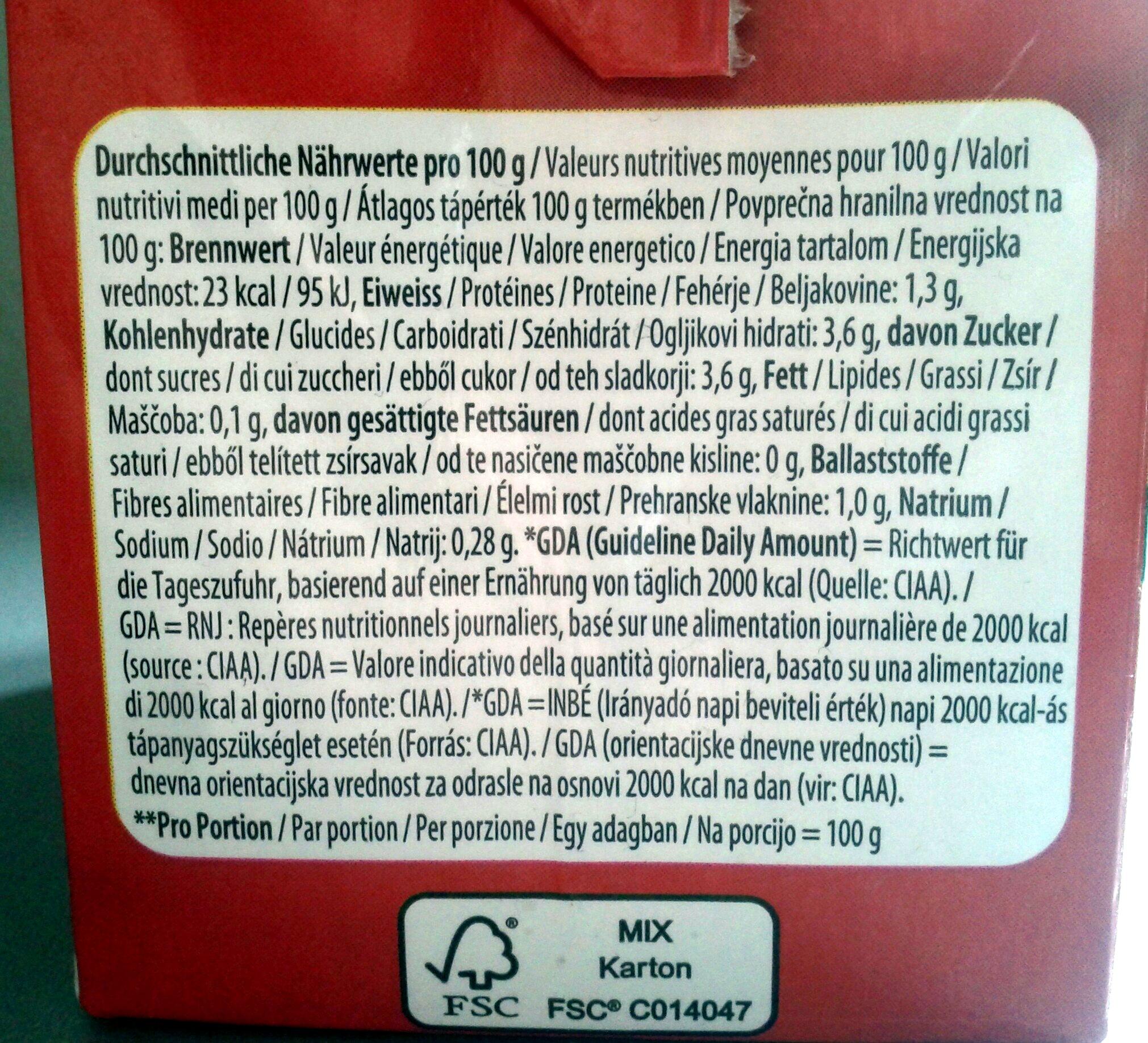 Avellanas tostadas - Voedingswaarden - de