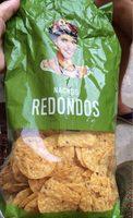 Nachos redondos - Produit