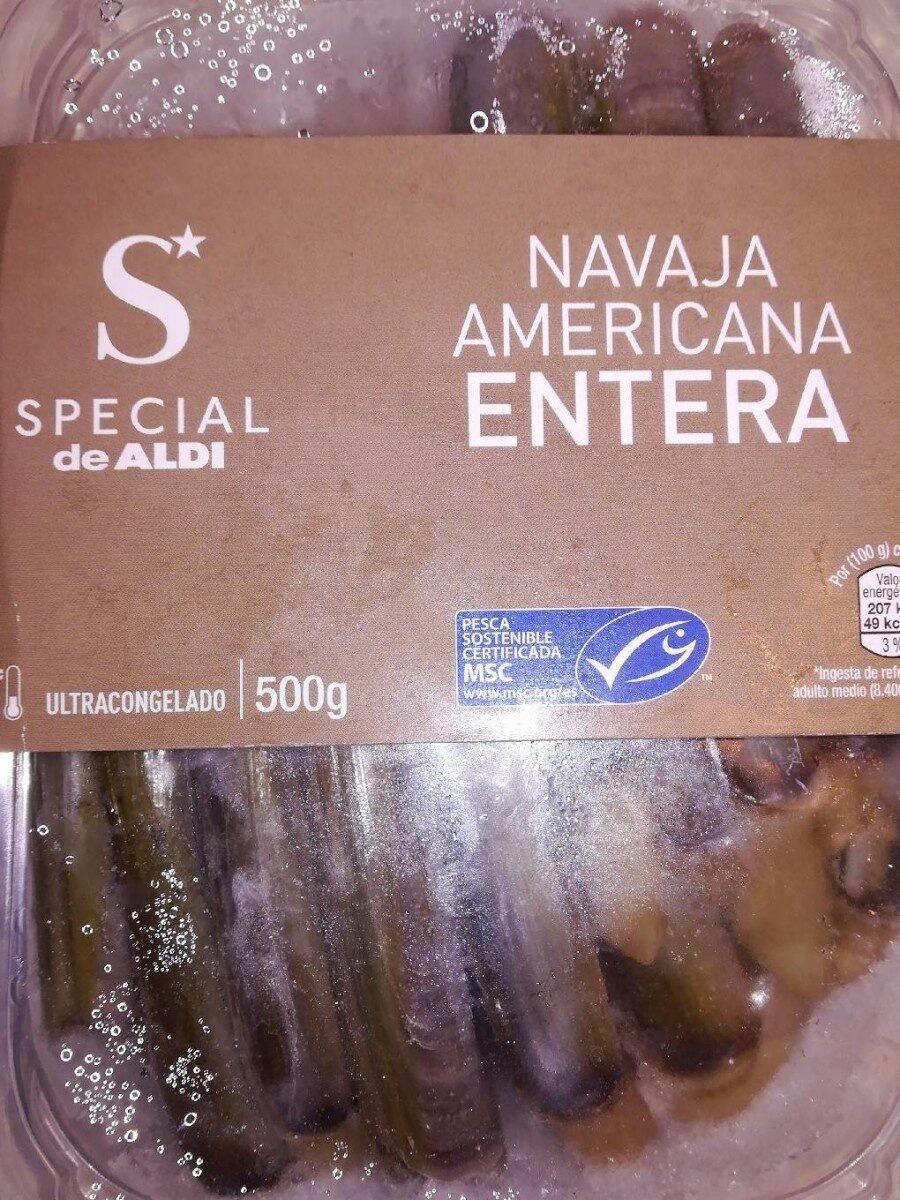Navaja Americana entera - Produit