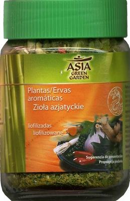Plantas Arom Ticas Liofilizadas Asia Green Garden 18 G