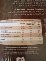 Frutos del mar - Información nutricional