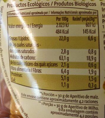 Tortilla maíz - Informations nutritionnelles - es