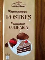chocolate para culinária - Producto