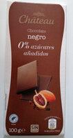 Chocolate negro 0% azúcares añadidos - Producto - es