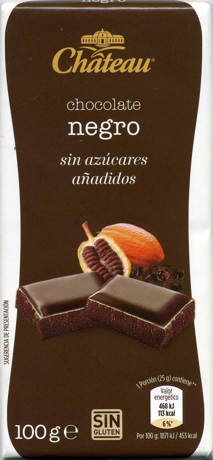 Chocolate negro Château - Producto