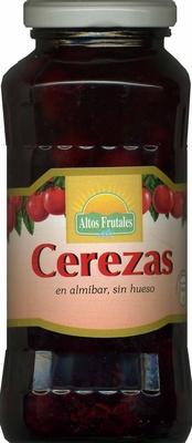 """Cerezas en almíbar sin hueso """"Altos Frutales"""" - Producto"""