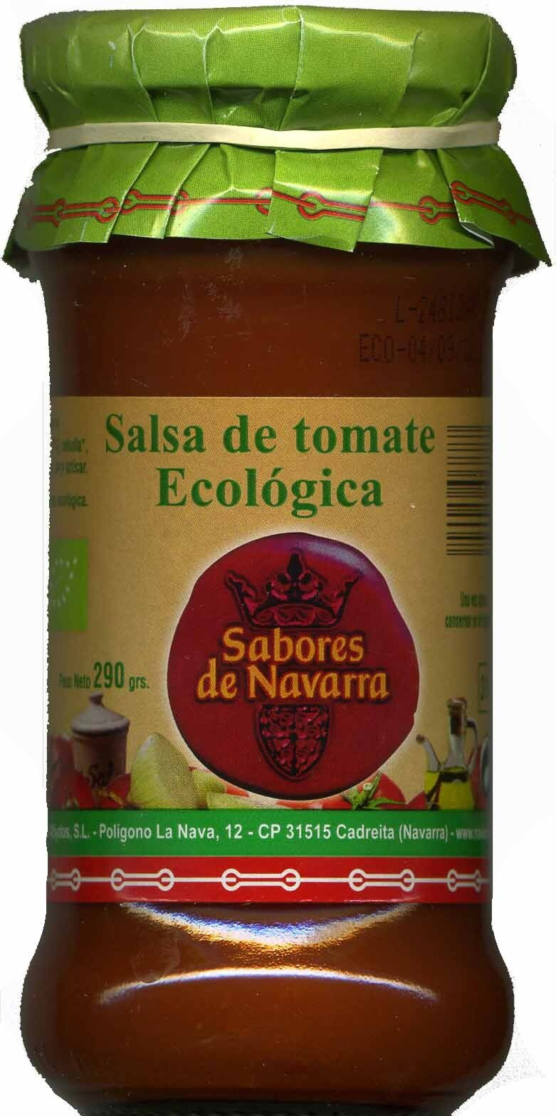 Salsa de tomate ecologica - Producto