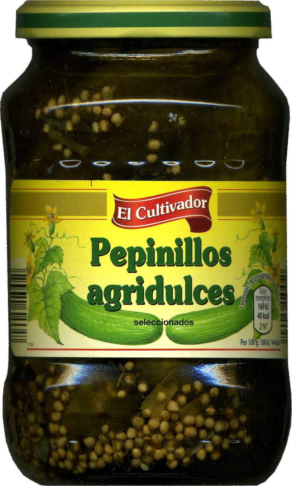 Pepinillos agridulces - Produkt