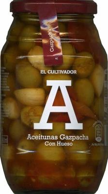 Aceitunas aliñadas Gazpacha
