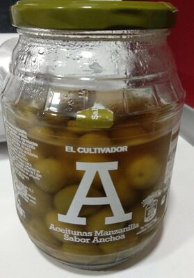 Aceitunas Manzanilla Sabor Anchoa - Producte - es