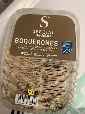 Boquerones en vinagre - Produit