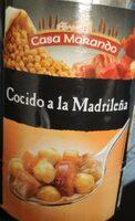 Cocido a la Madrileña - Producte