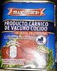 Producto carnico de vacuno cocido - Produit