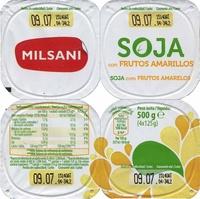 Postre de soja Frutas amarillas - Produto - es