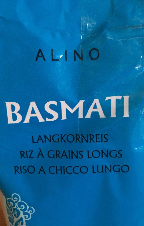 Alino Basmati Reis - Produit