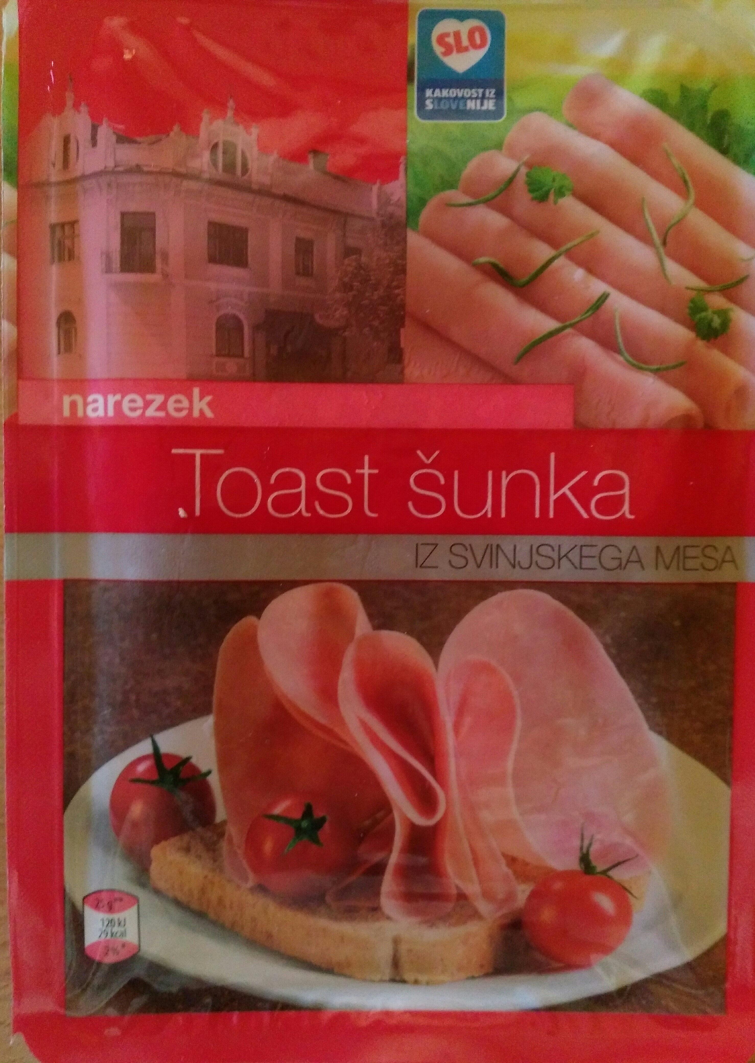 Toast šunka narezek - Producte