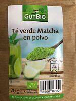Té matcha en polvo GutBio - Producte