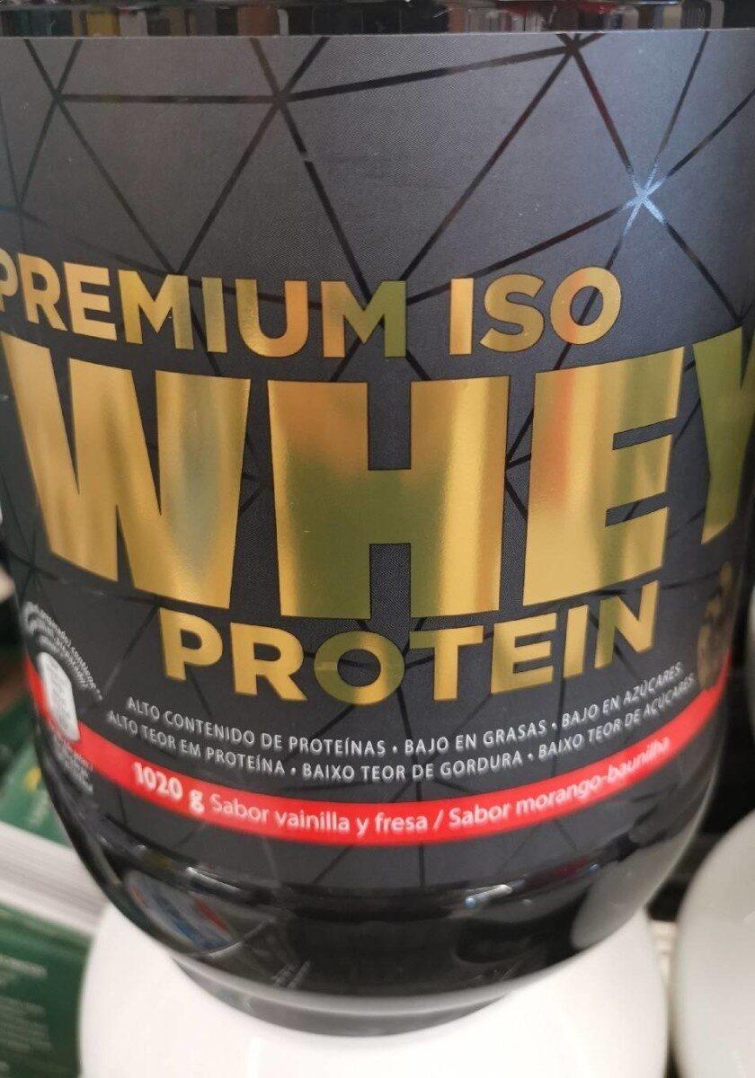 premium iso whey protein