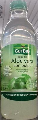 Jugo de Aloe vera con pulpa - Producto