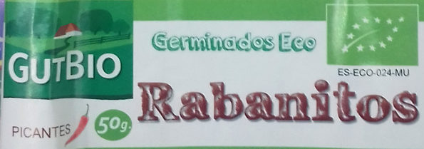 Germinados Eco Rabanitos - Ingredientes - es