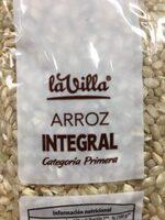 Arroz integral - Ingredients