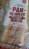 Pan de Molde integral de trigo - Produit - es