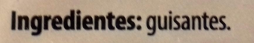 Guisantes - Ingredientes - es