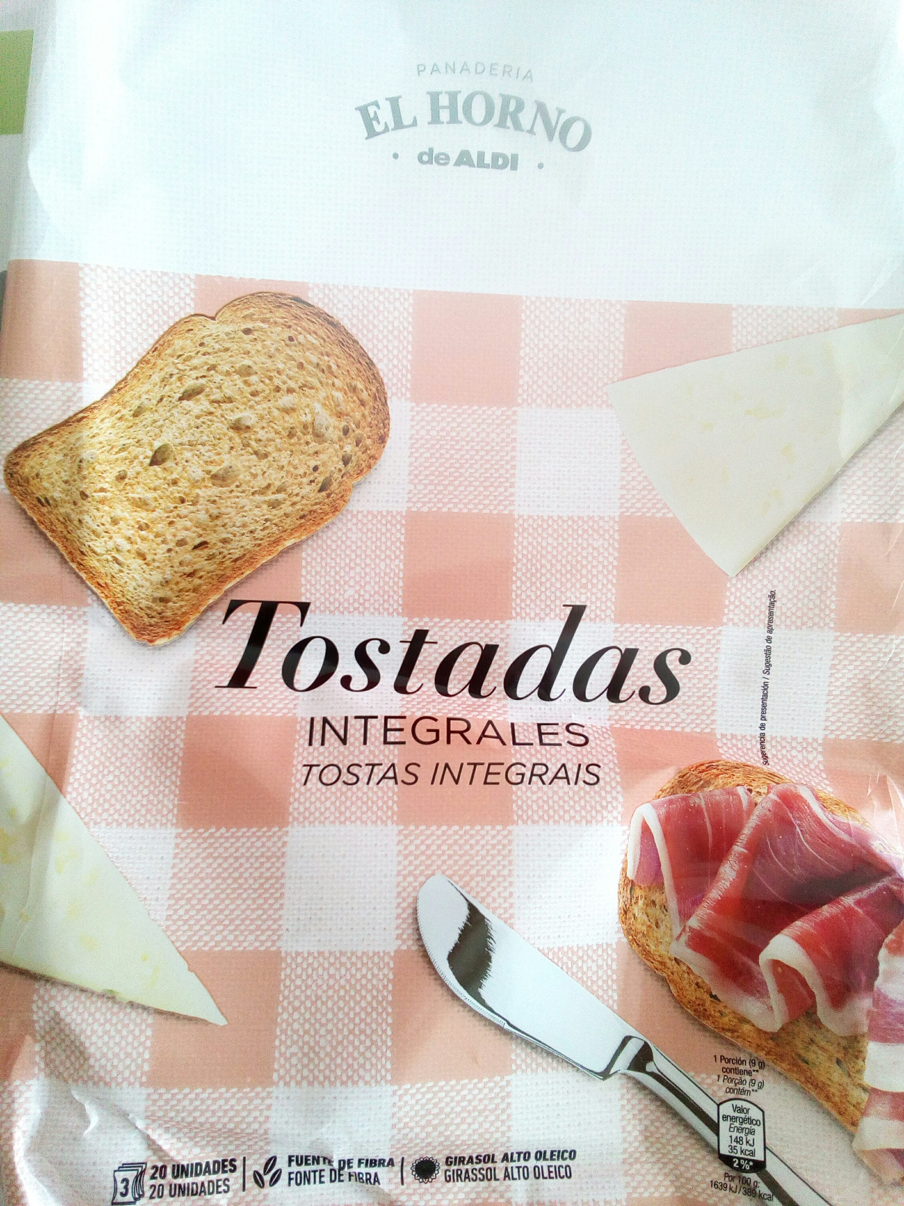 Tostadas Integrales - Product