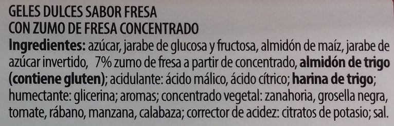 Dulcipica manzana - Ingredients