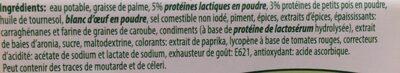 Charcuterie sans viande au piment - Ingrediënten - fr