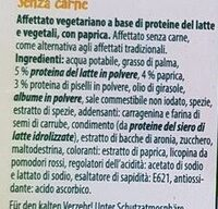 Charcuterie sans viande au piment - Ingredienti - it